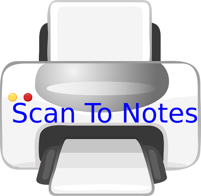 Scan To Notes iphone