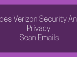 Does Verizon Security And Privacy Scan Emails